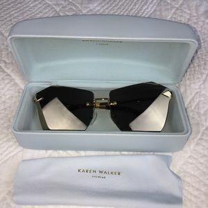 Karen Walker Cat-Eye Sunglasses